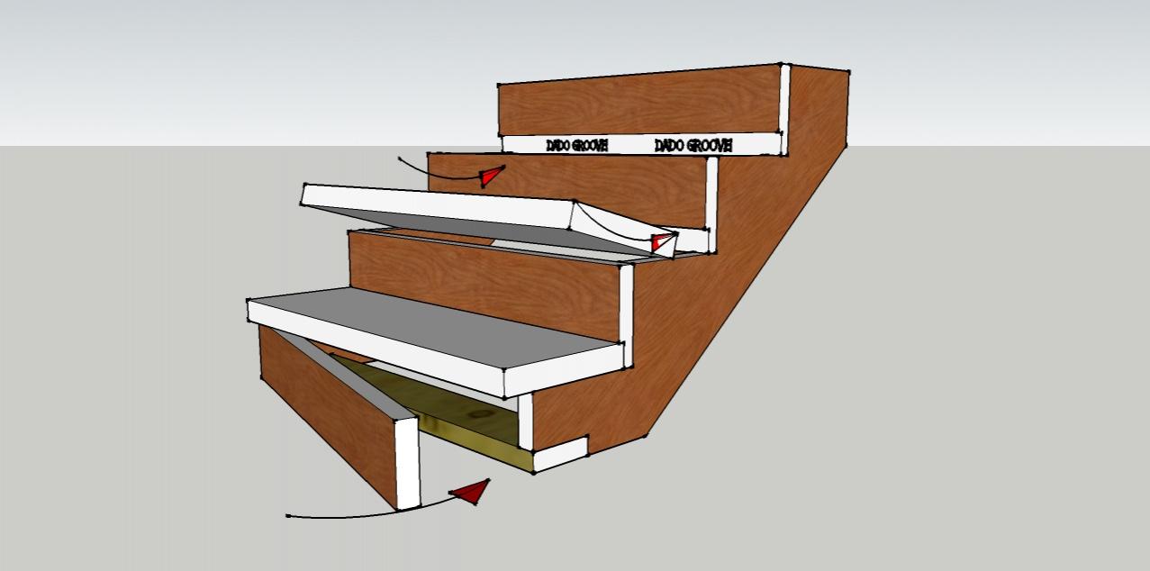 Stair Tread Template 4594470 Hitori49fo