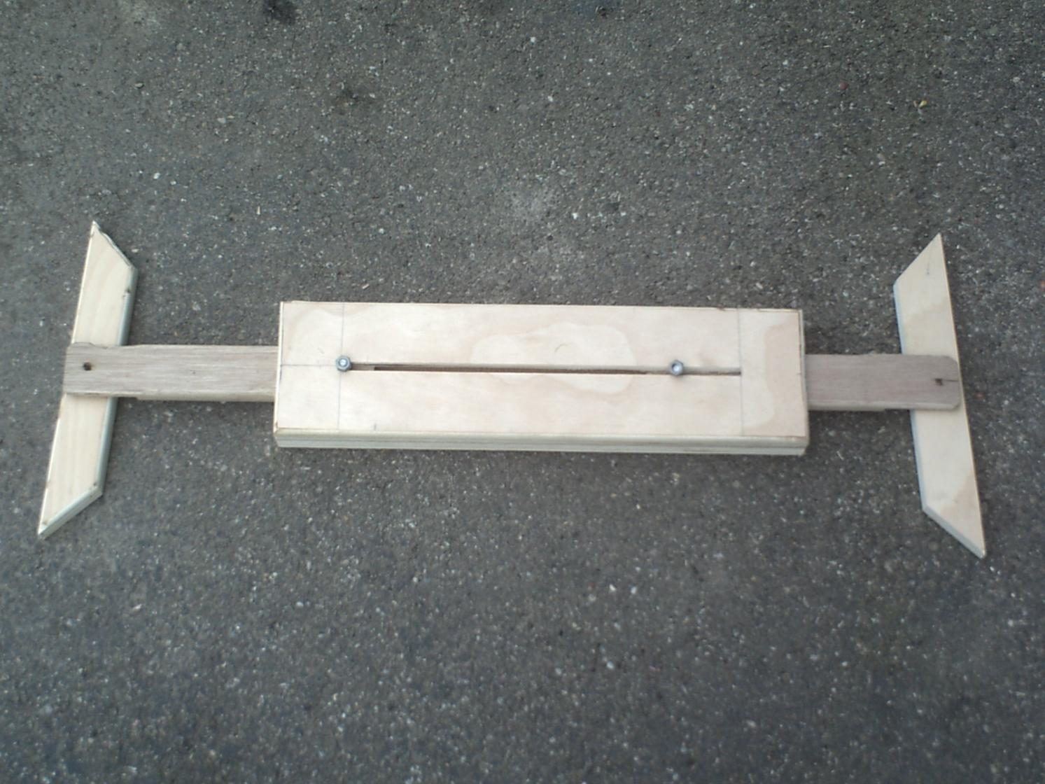 Stair tread jig finish carpentry contractor talk for Stair tread template tool