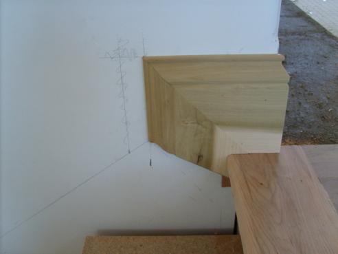 ... Determining Skirt Board Height Stair Skirt Base Transition