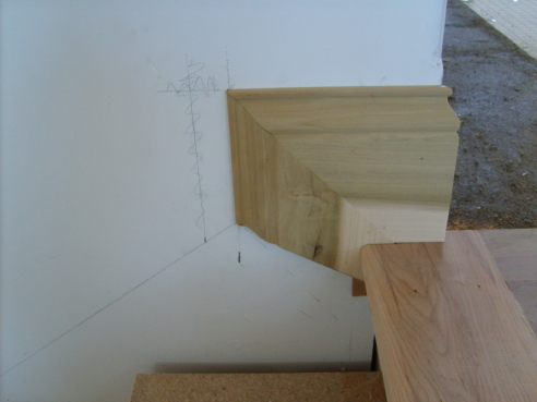 Stair Skirt Boards Finish Carpentry Contractor Talk