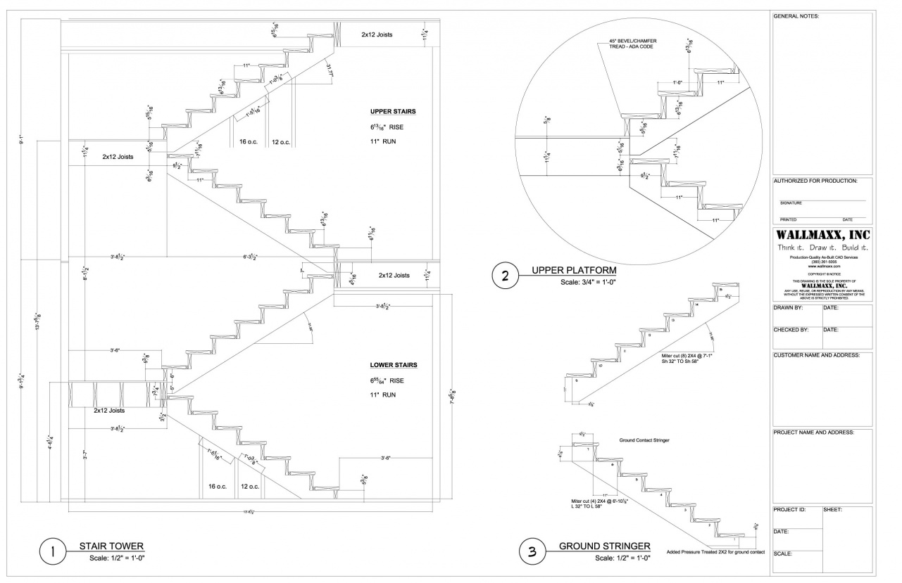 Staircase Section Tower : Sketchup does staircase architecture design