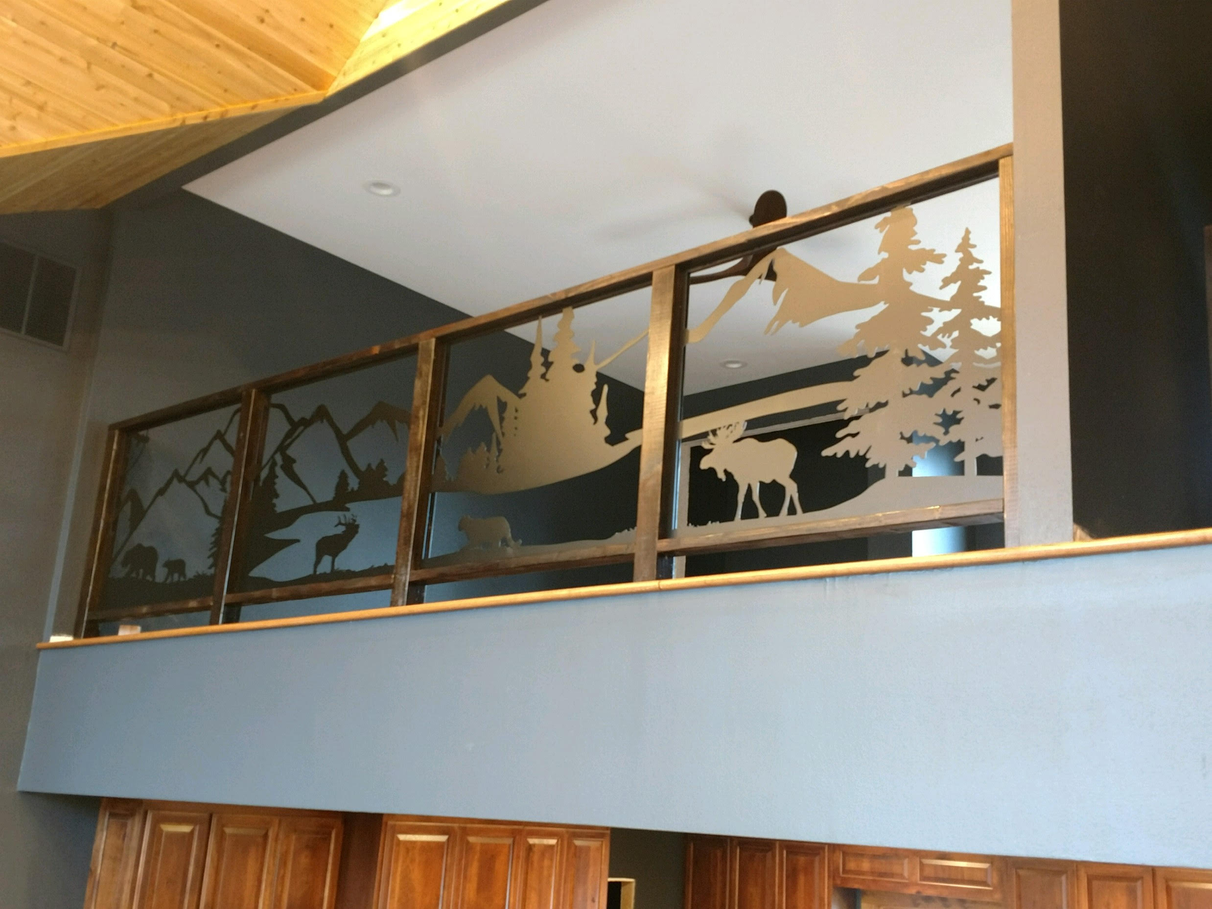 CNC Scenery Panels for Handrail-stair-view-balcony.jpg