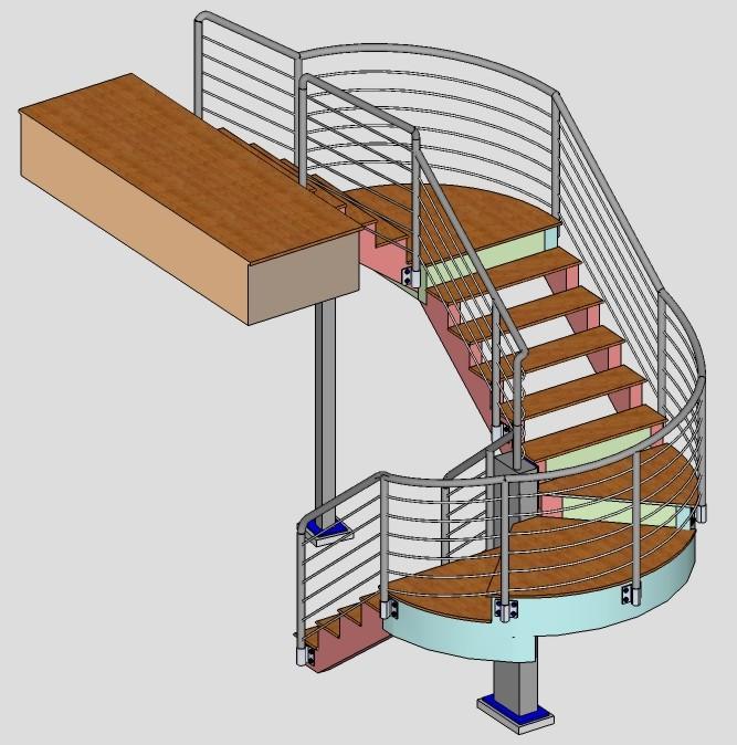 Sketchup for decks page 2 decks fencing contractor for Sketchup deck design