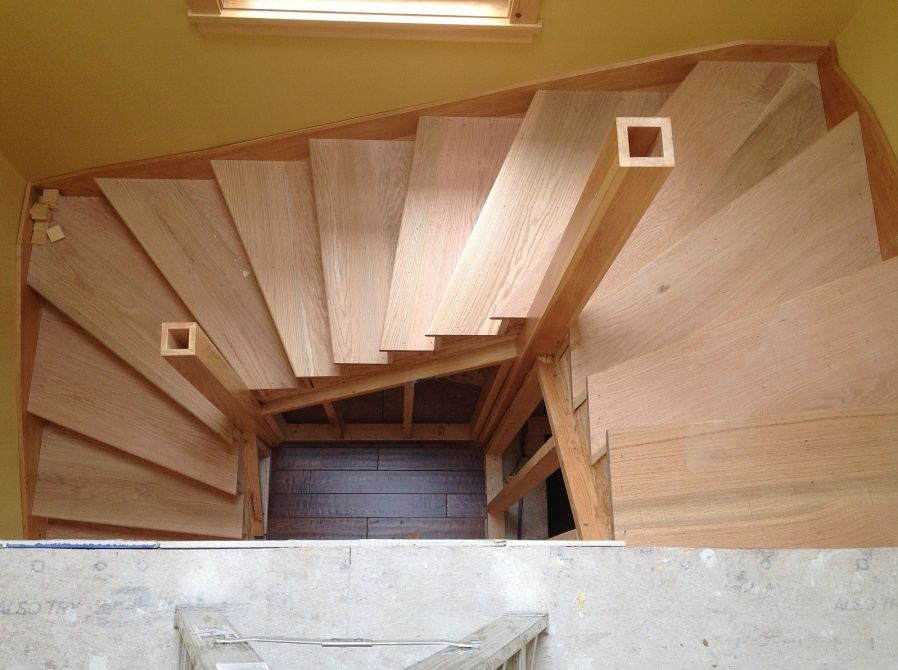 Winder Staircase Staircase Above ...