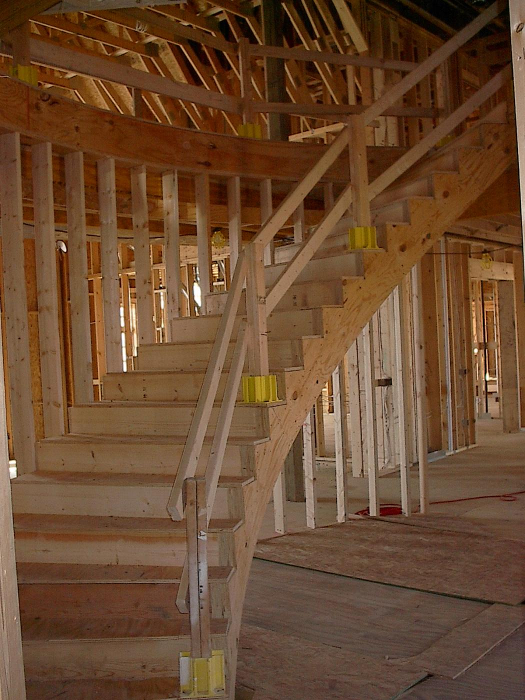 Curved Stairs Drywall Contractor Talk