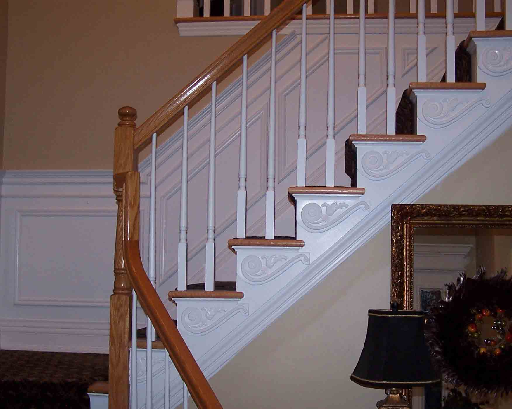 Wall Frames Up A Stairway Stairs2