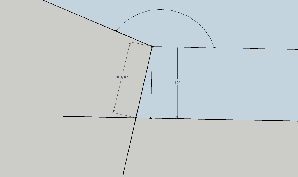 Calculations For Hip On Wrap Around Stairs On A 22 5