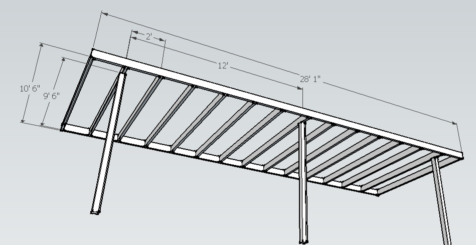 Steel Frame Deck Need Engineered Input - Decks & Fencing ...