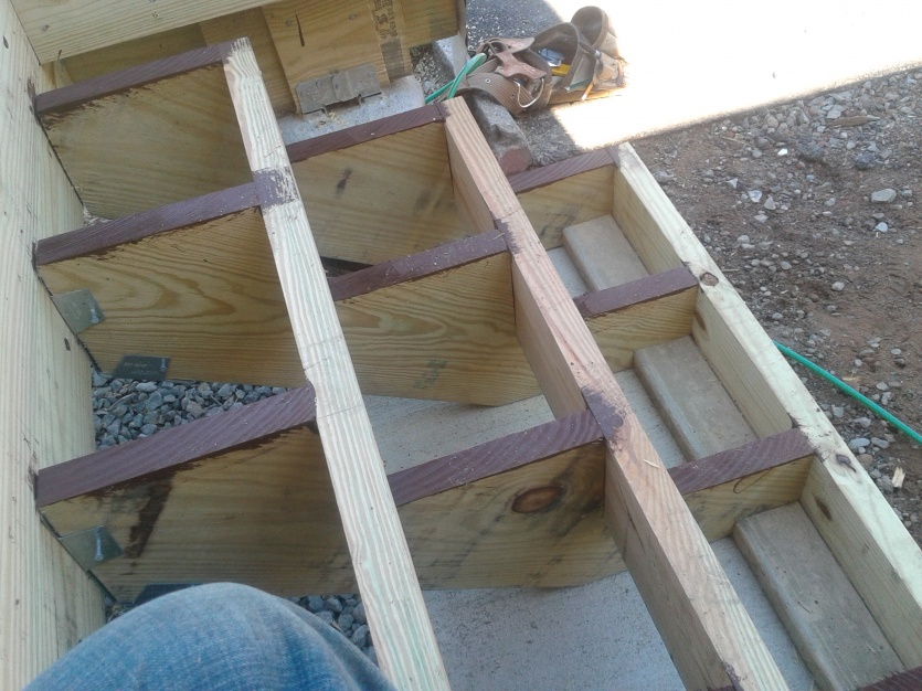 Composite Step Questions Decks Amp Fencing Contractor Talk