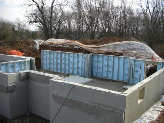 Icf for slab on grade foundation concrete paving for Superior wall foundation