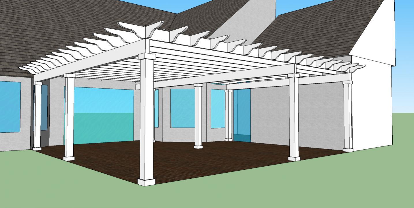 Re: Help With Pergola Design - Help With Pergola Design - Decks & Fencing - Contractor Talk