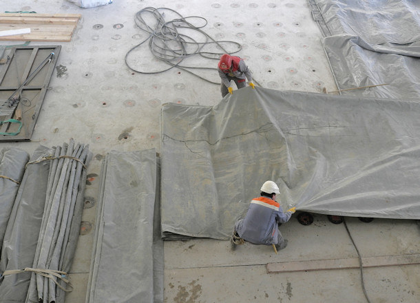 Cleaning Dirty Tarps