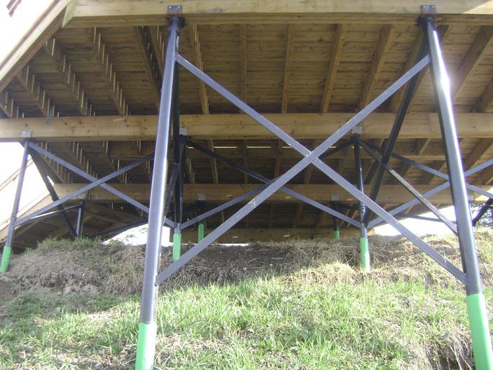 Sonotubes or bury the 6x6 in concrete ? decks & fencing