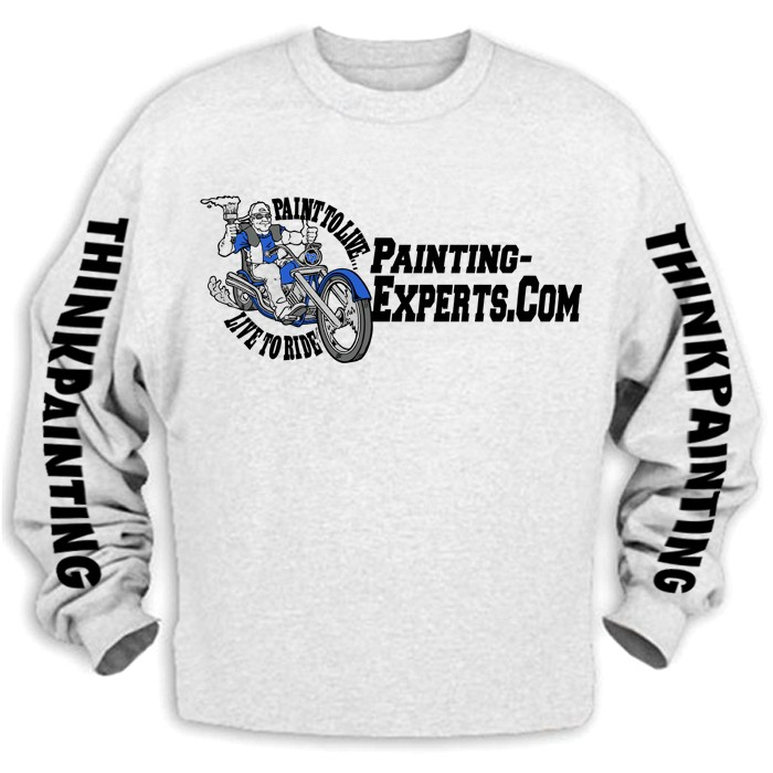 Shirts and Hoodies.-thinkpaintingashcrewneckfront.jpg