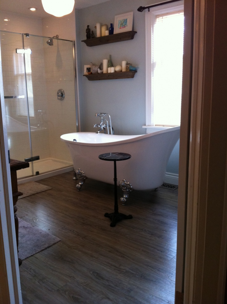Bedroom With Bathroom: Bedroom To Bathroom, OLD Bath To Walk-in Closet
