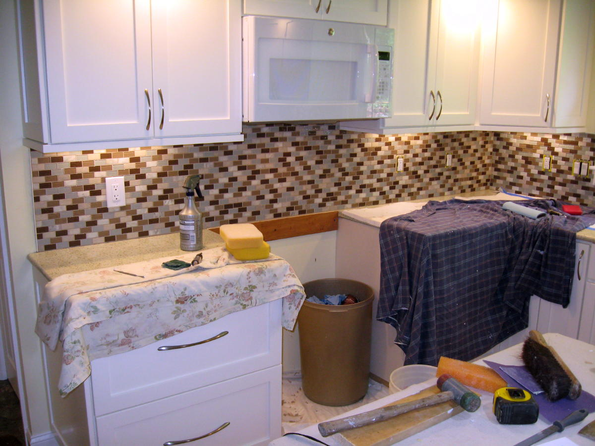 Experience with fusion pro grout tiling contractor talk experience with fusion pro grout tile backsplash 028ag dailygadgetfo Gallery