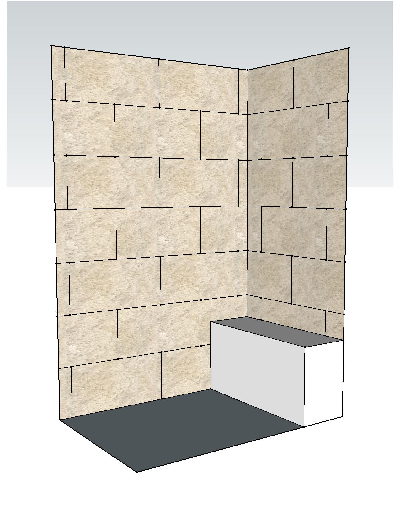 Comfortable Shower Tile Spacing Pictures Inspiration - Bathroom ...