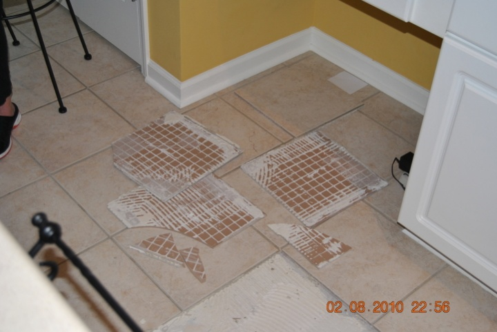 Tile Setting Back Buttering Flooring Contractor Talk