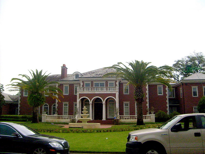 Slate Roof Cleaning In Tampa FL   Using Lift To Clean Slate Roof Tile  ...