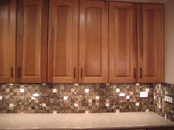 Copper Tile Backsplash