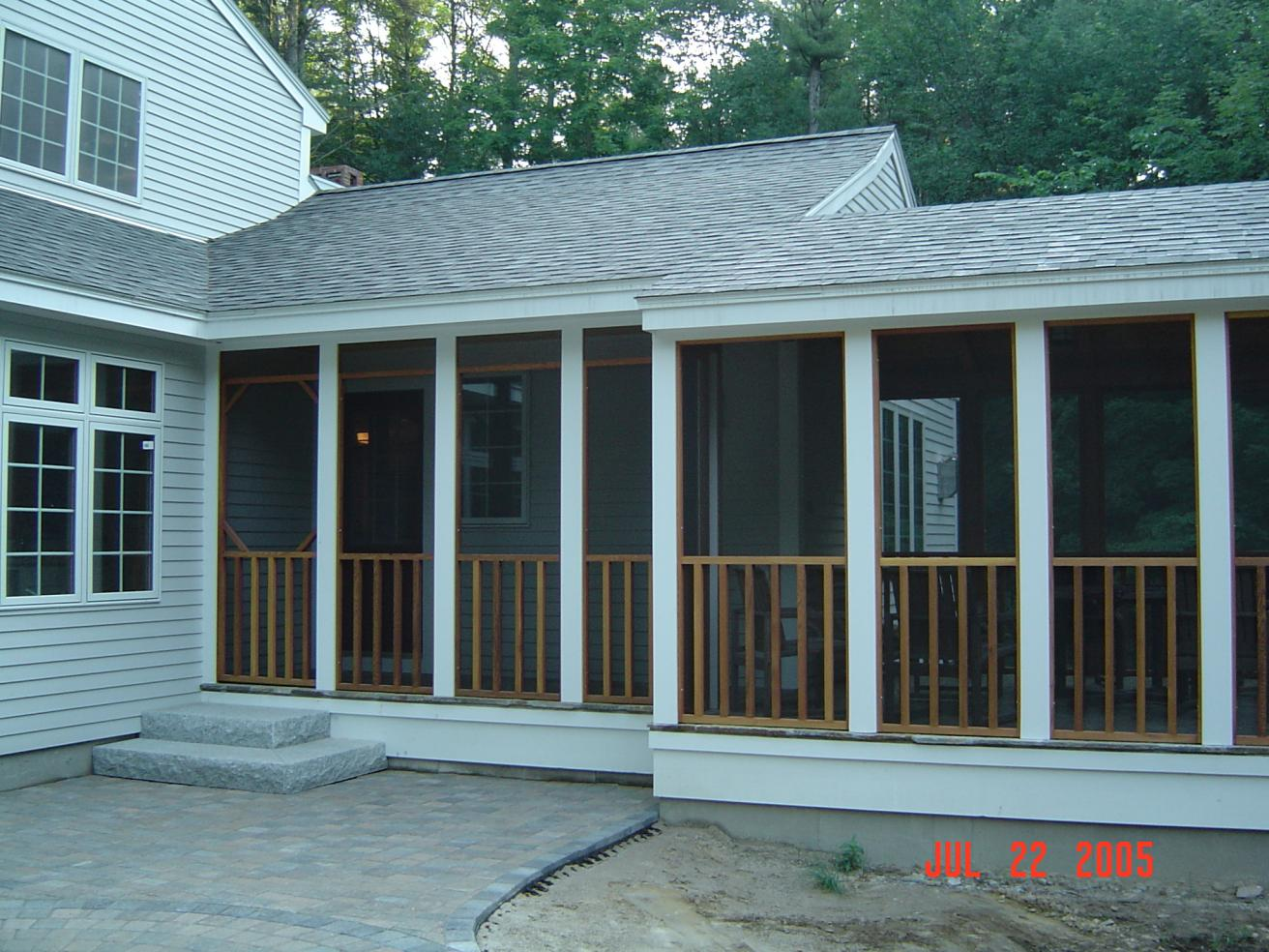 design frame screened architecture a porch talk contractor in inside screening