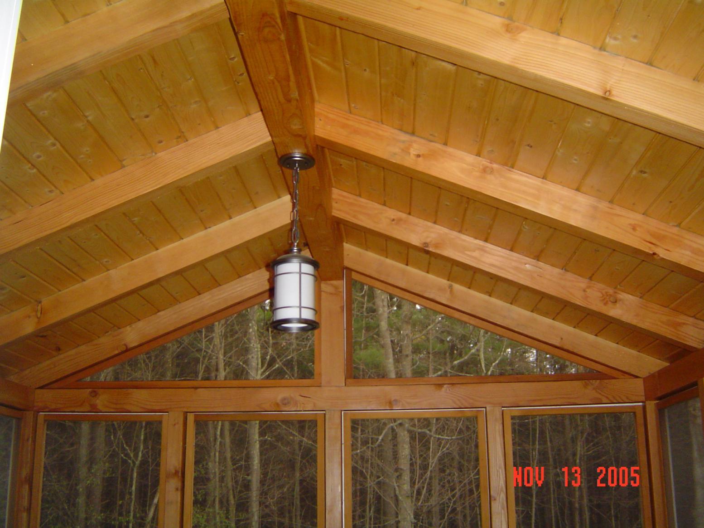 Screened Porch Frame Design Tinglepaugh 142 Jpg