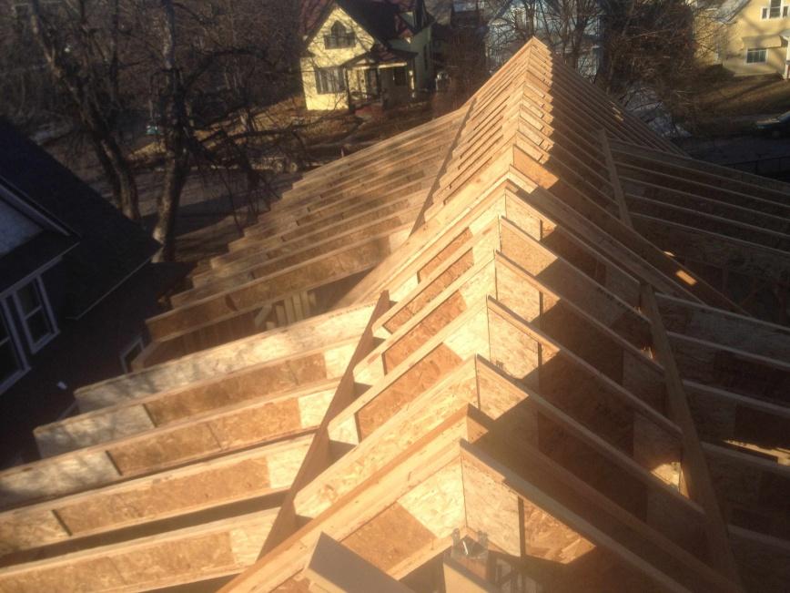 Stick Framing With Engineered Lumber Framing
