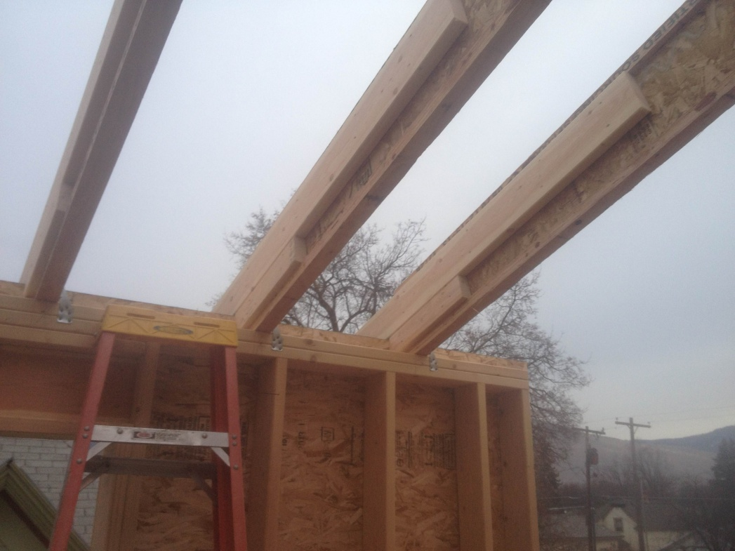 Stick Framing With Engineered Lumber Framing