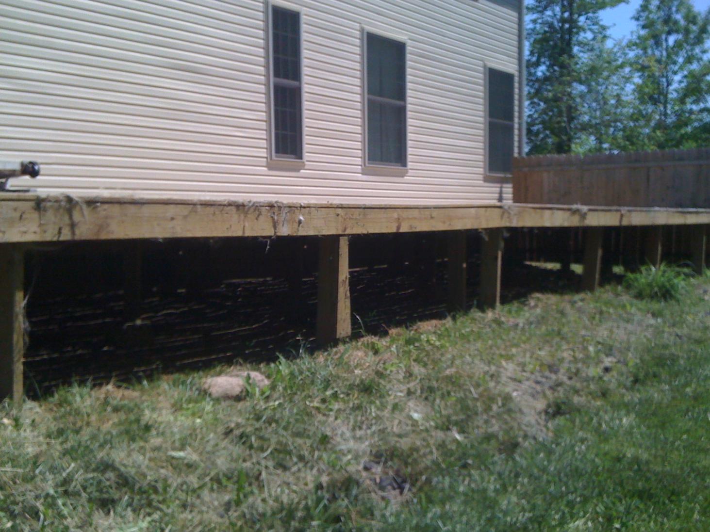 Use Of Precast Concrete Post Bases?? - Decks & Fencing - Contractor Talk
