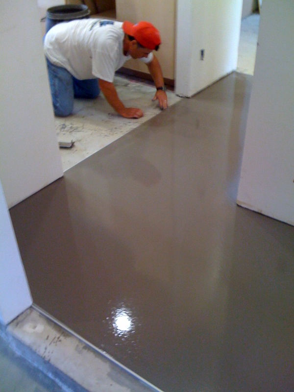 Beautiful Recent Floor Leveling Project