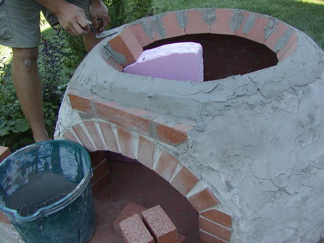 Pizza Oven dome construction-top-course-form-8-.jpg