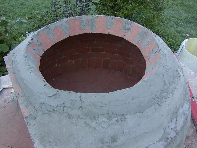 Pizza Oven dome construction-top-view-7-.jpg