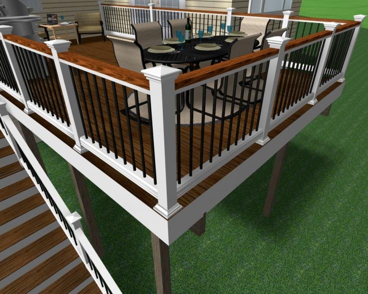 Deck builder sketchup deck builder for Sketchup deck design