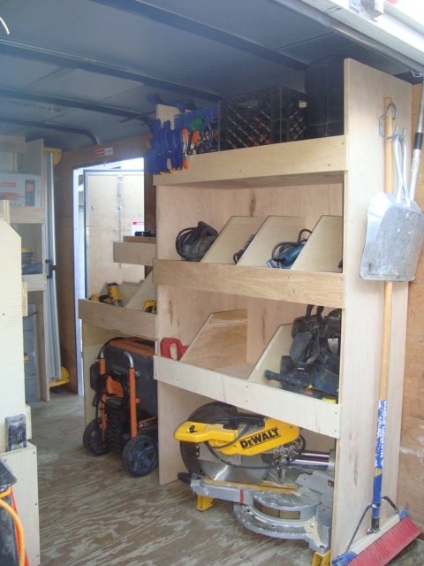 Job site trailers show off your set ups page 3 tools for Rv workshop
