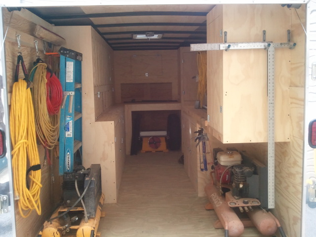 Cargo Trailer Ideas - Tools & Equipment - Contractor Talk
