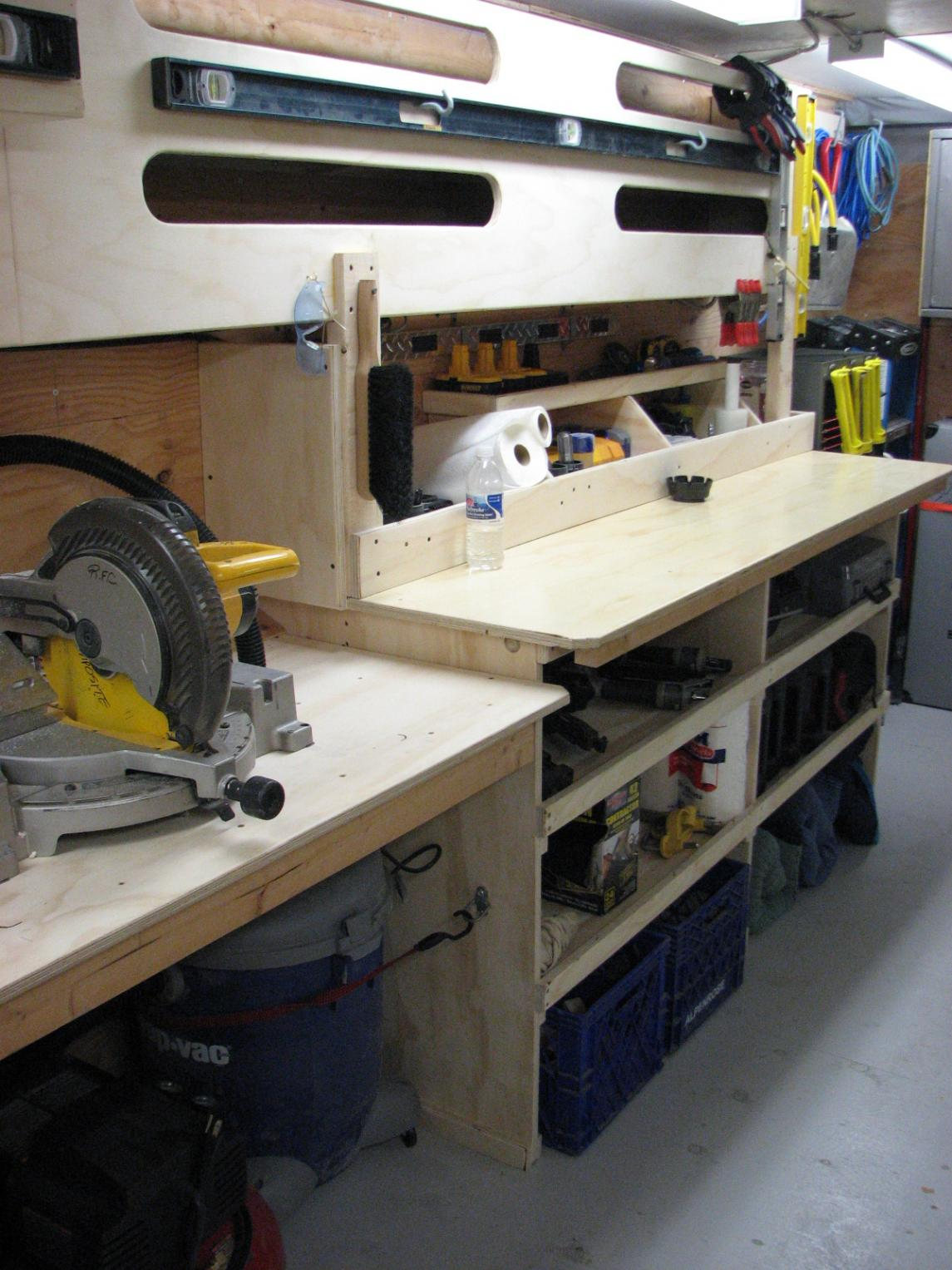 Job site trailers show off your set ups page 10 for Rv workshop
