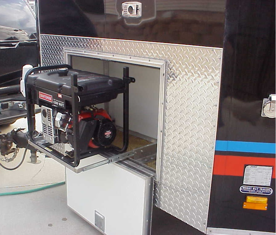 Generator In Trailer Vehicles Contractor Talk