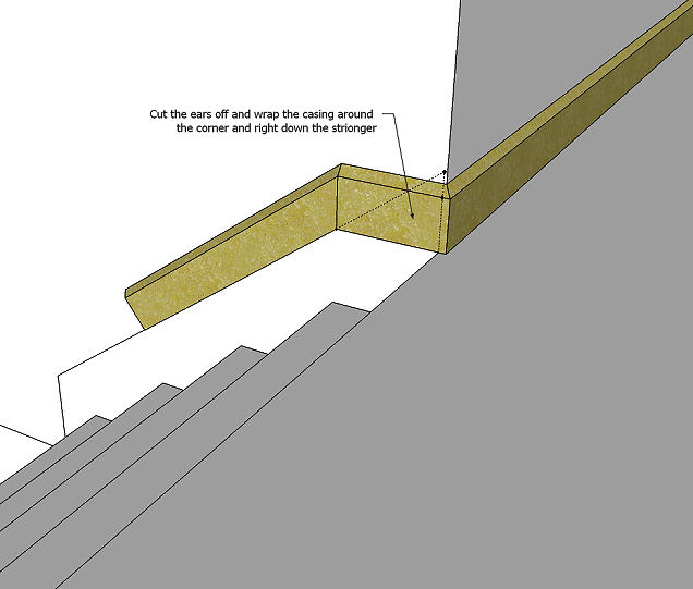 Could Use Some Help Trimming Out Stairs Trim Out Stairs