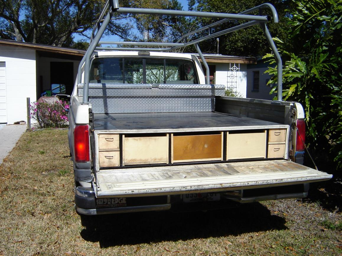 Truck bed tool box storage drawers - Truck bed box drawers ...