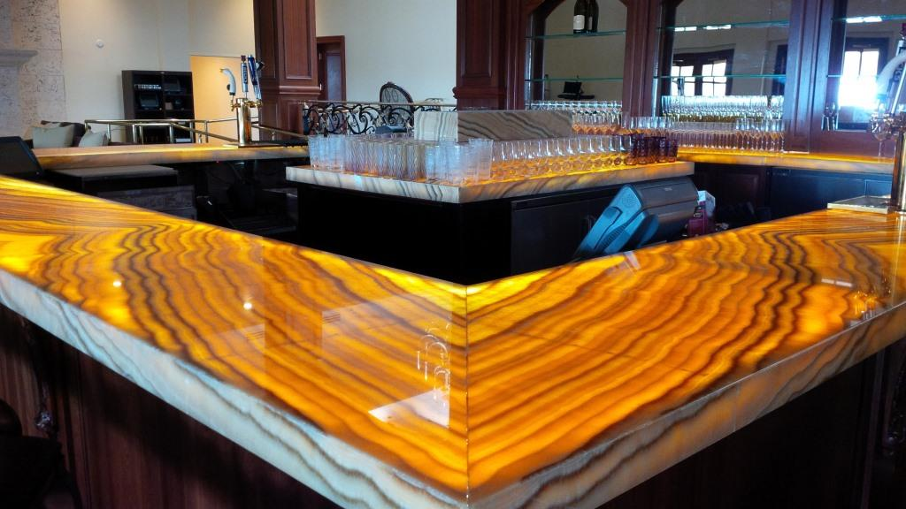 Onyx Slabs Seattle : Backlit onyx countertops page electrical