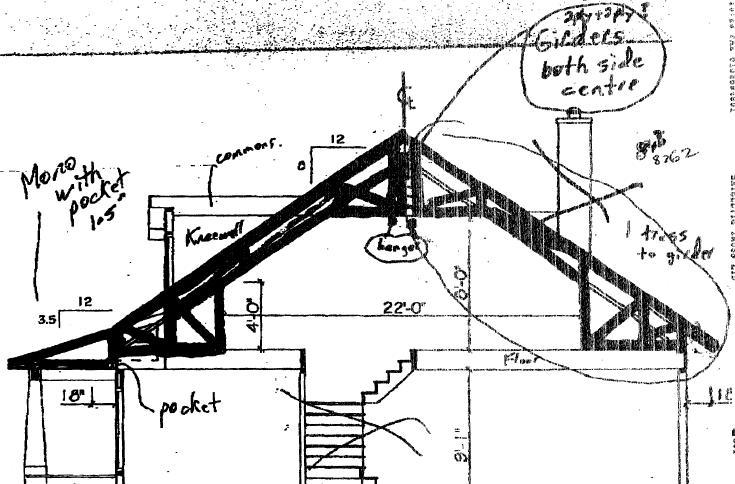 Loft framing framing contractor talk for Truss lofts