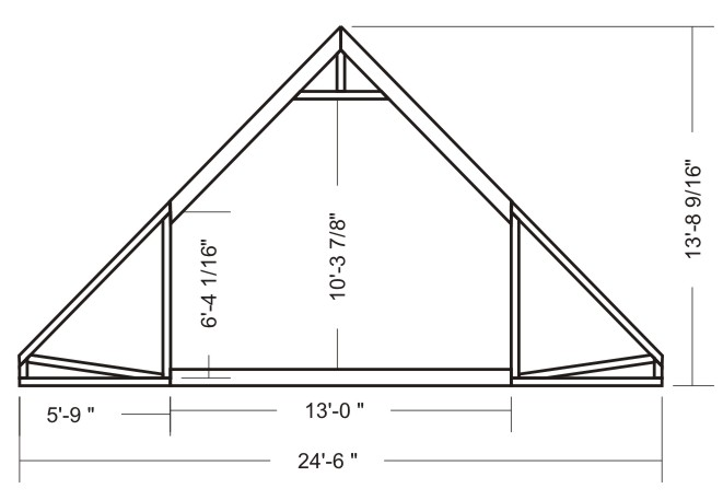 Second guess the truss engineer framing contractor talk for Bonus room truss design