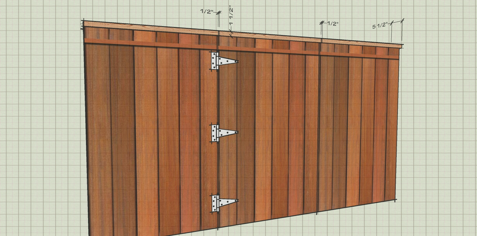 How to build a gate when fence has a 2x6 cap-untitled-1.jpg