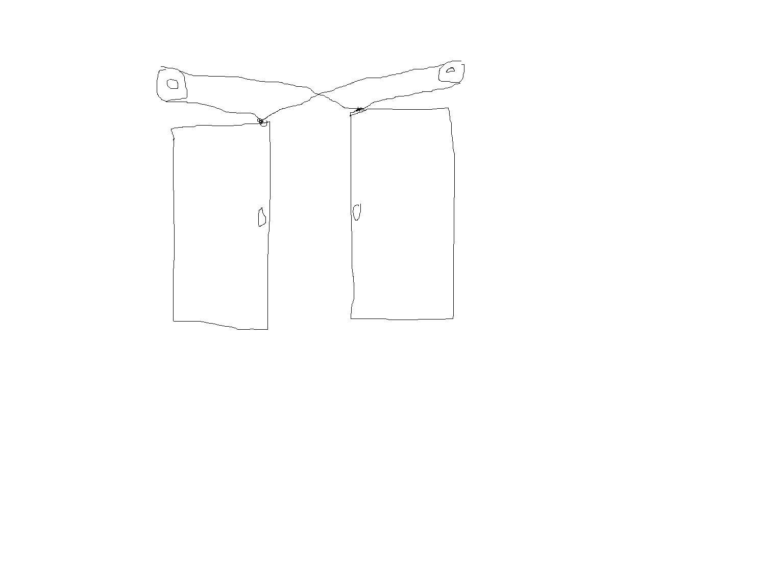 Converging Pocket Door Linkage Kit Any Drawings Carpentry