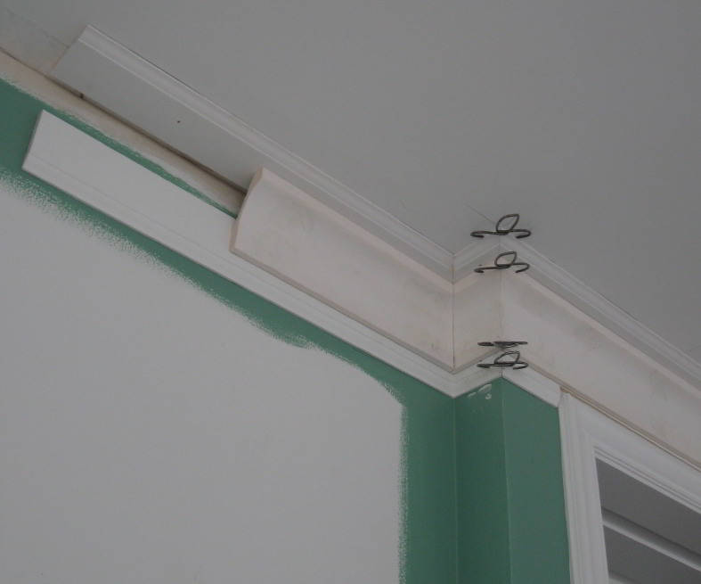 Base On The Ceiling And Upside Down Base Finish