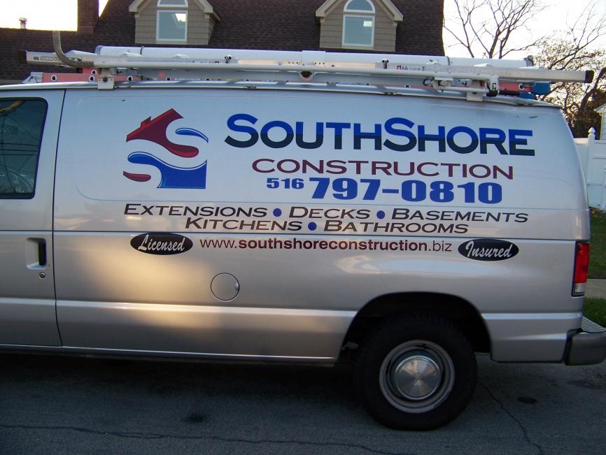 new van lettering