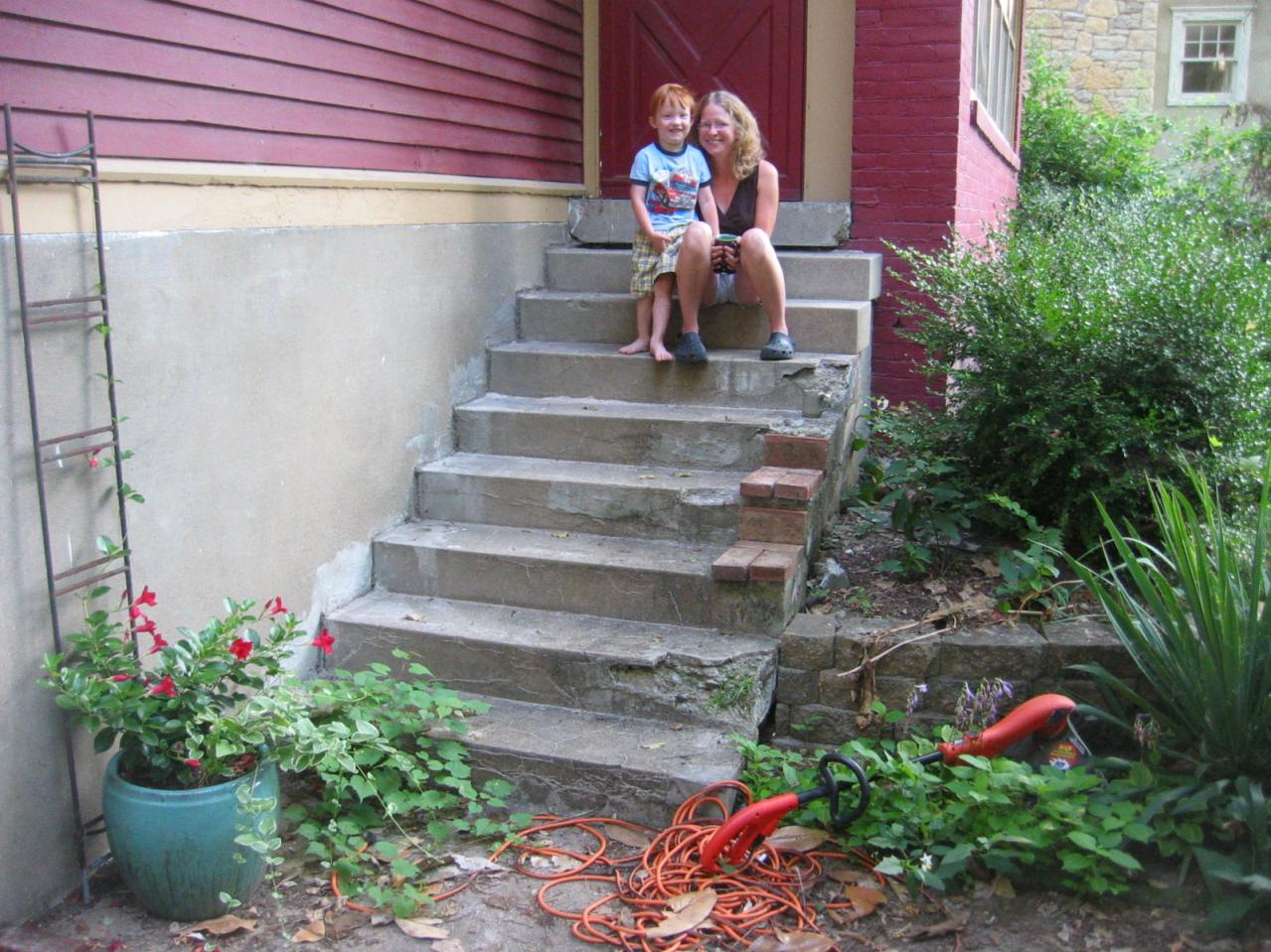 Stair Repair Or Cover Masonry Contractor Talk