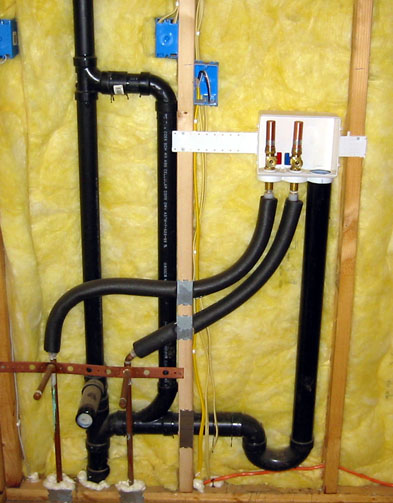 Washing machine and vanity sink share same 2 quot drain plumbing contractor talk