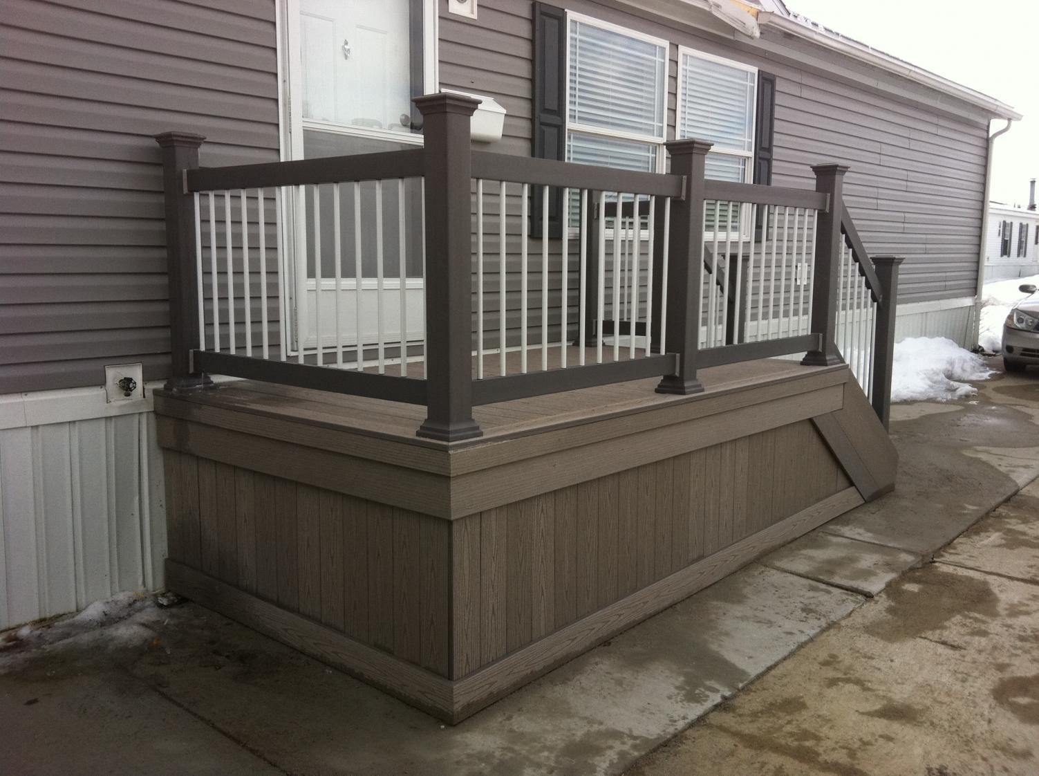 composite deck veranda composite deck reviews. Black Bedroom Furniture Sets. Home Design Ideas