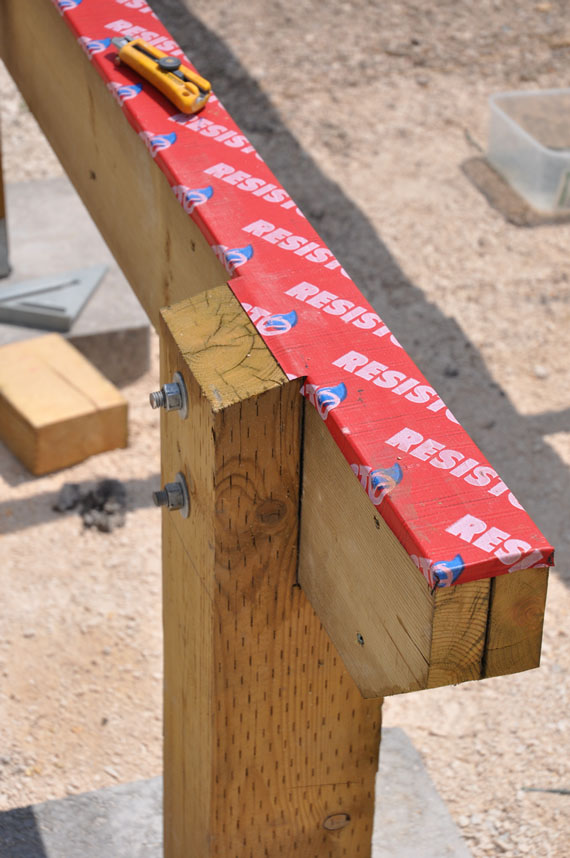 Flashing Deck Ledger Pic Page 2 Decks Amp Fencing